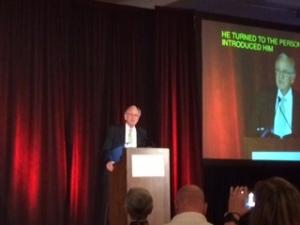 Tom Harkin was an impressive keynote speaker.